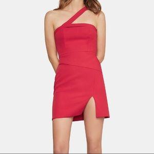 BCBGMaxAzria Dayne Asymmetrical Sheath Mini Dress